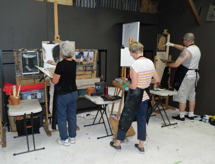 Artists Workshops Newcastle