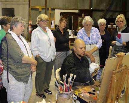 Fine art painting classes Newcastle - masters techniqes